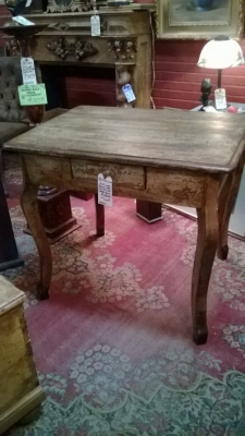 36-ROGER-22 PAINTED WOOD TABLE WITH DRAWER (1).jpg