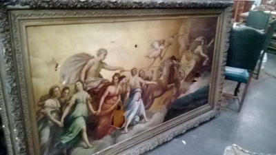 123-7 LONG ANTIQUEOIL PAINTING COPY OF GUIDO REMI APOLLO OIL PAINTING  (3).jpg