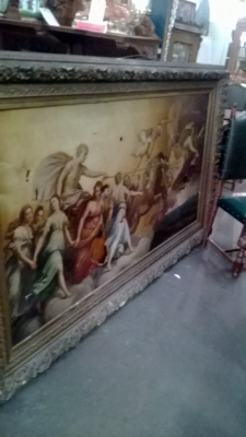 123-7 LONG ANTIQUEOIL PAINTING COPY OF GUIDO REMI APOLLO OIL PAINTING  (9).jpg