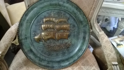 SHIP EMBOSSED WALL PLATE.jpg