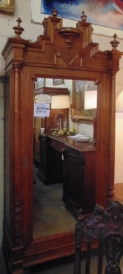 12A26006 MIRROR ONE DOOR ARMOIRE 295 DOLLARS