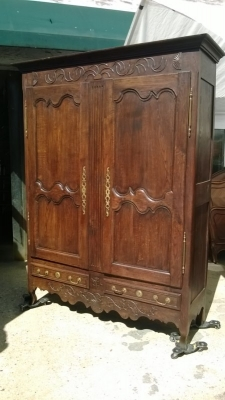 14J15013 EARLY LOUIS XV CARVED ARMOIRE (1).jpg