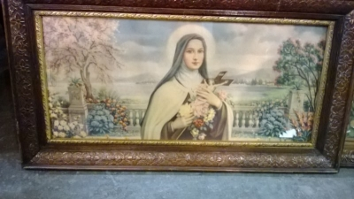 14J22034 FRAMED PRINT OF ST. THERESE OF LISIEUX.jpg
