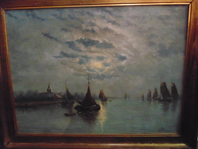 14C10320 oIL PAINTING BY JOSEPH HYMANS (2)