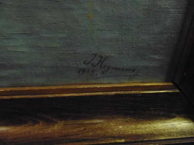 14C10320 oIL PAINTING BY JOSEPH HYMANS (3)