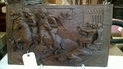 36-84034 ANTIQUE EUROPEAN FIGURAL CARVED PANEL.jpg