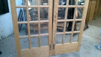 14K12013 PAIR OF STRIPPED PINE FRENCH DOORS (2).jpg
