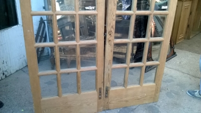 14K12013 PAIR OF STRIPPED PINE FRENCH DOORS (2).jpg