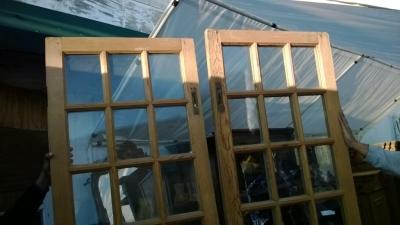14K12013 PAIR OF STRIPPED PINE FRENCH DOORS (3).jpg