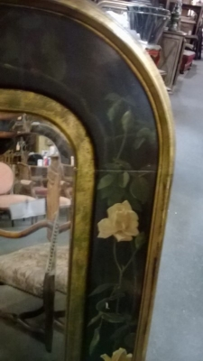 14K10305 BLACK YELLOW AND GREEN FLORAL MIRROR  (3).jpg