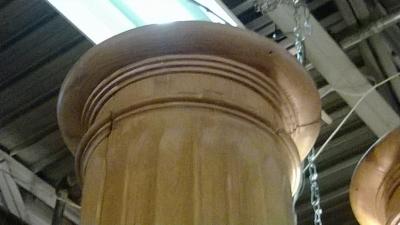 14K12002 PAIR OF PINE ARCHITECTURAL COLUMNS (3).jpg