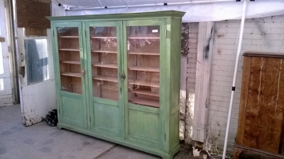36 PAINTED PINE BOOKCASE CABINET (2).jpg