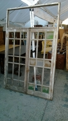 36 LARGE STAINED GLASS WINDOW MISSING MANY PANES (2).jpg