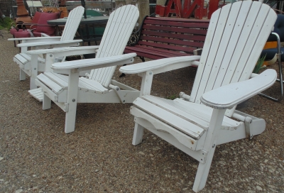14C17550 1 OF 3 EACH ADIRONDACK CHAIR (2)