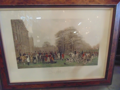 14C17551 ENGLISH HUNT SCENE LARGE