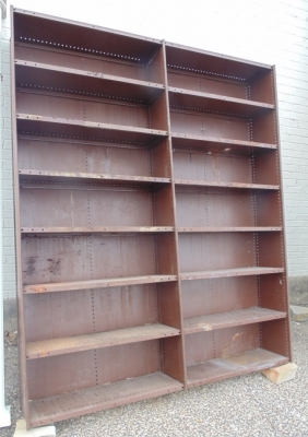 36 HUGE METAL INDUSTRIAL SHELF