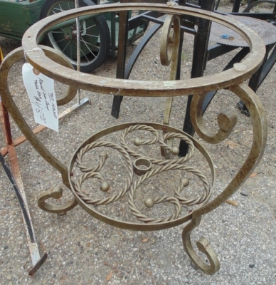 TNT GOLD IRON TABLE BASE