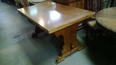 14H08074 GOTHIC OAK DRAWLEAF TABLE  (1).jpg