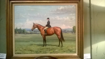 14K17305 EQUINE PAINTING BY P. EDWARDS .jpg