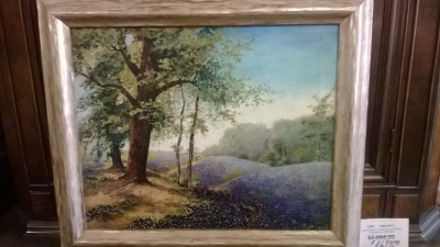 14K24711 EARLY TEXAS BLUEBONNETS PAINTING BY BREWER.jpg