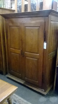 14K28067 EARLY FRENCH PANELED DOOR  ARMOIRE.jpg