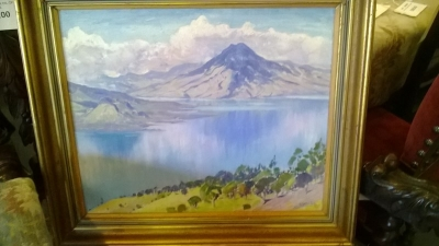 14K28261 SCANDINAVIAN MOUNTAIN OIL PAINTING.jpg