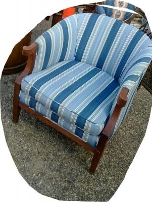 14L03225 BLUE FABRIC BARREL CHAIR (2).jpg