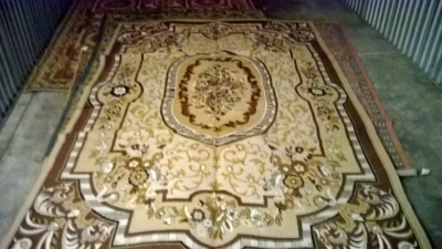 123 Assortment of Vintage Machine made rugs from Europe (9).jpg