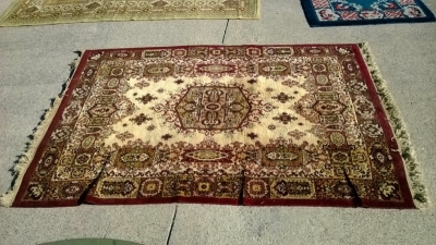 123 Assortment of Vintage Machine made rugs from Europe (50).jpg