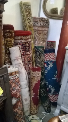 123 Assortment of Vintage Machine made rugs from Europe (62).jpg