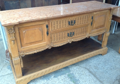 Was $1295 Now $895    14C06020 LOUIS XVI SIDEBOARD.JPG