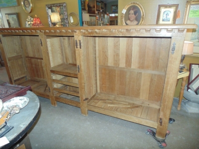 14B15057 VERY LONG RUSTIC CABINET  (1)