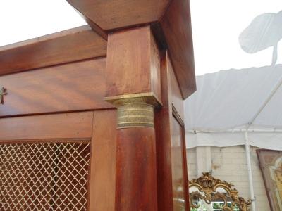 13E25002 EMPIRE MAHOGANY BOOKCASE WITH ORMOLU  (4).JPG