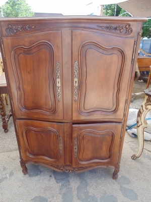 13F17259 LOUIS XV OPEN BACK 4 DOOR CABINET (2).JPG