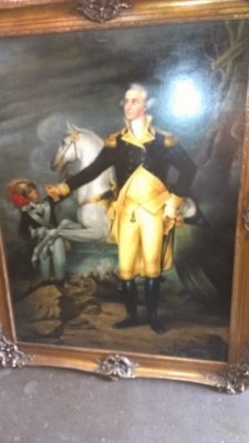 14F09575 GEORGE WASHINGTON PAINTING