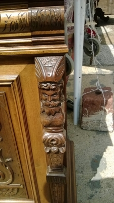 14F06023 LARGE FIGURAL CARVED WALNUT HUNTBOARD (2).jpg