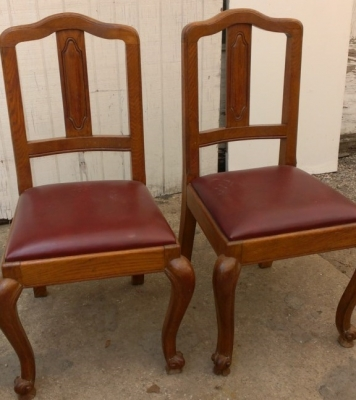 14G27 PAIR FRENCH SIDE CHAIRS