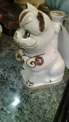 14L29650 POTTERY CAT CANDLE STAND (1).jpg