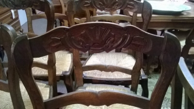 15A12113 SET OF 6 LOUIS XV DARK OAK RUSH SEAT CHAIRS (2).jpg