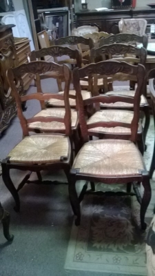 15A12113 SET OF 6 LOUIS XV DARK OAK RUSH SEAT CHAIRS (3).jpg