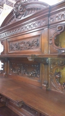 13k08002 incredibly carved oak sideboard turn of the century (6).jpg