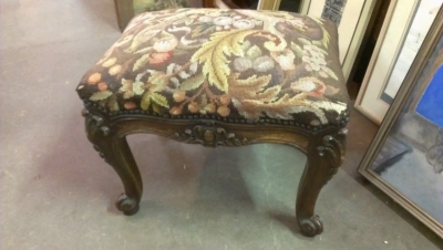 15A23017 LOUIS XV CARVED OAK FOOT STOOL.jpg