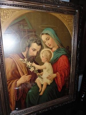 14C24475 HOLY FAMILY PRINT