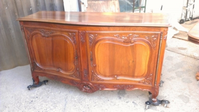 15A23517 LARGE 2 DOOR LOUIS XV WALNUT SERVER (5).jpg
