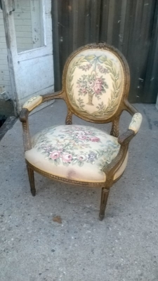 15A23519-20 2 PAIRS OF OVERSIZE LOUIS XVI FLORAL EMBROIDERY ARM CHAIRS (2).jpg