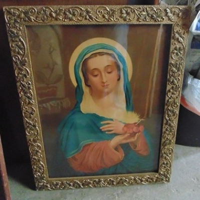 14C24479 IMMACULATE HEART OF MARY PRINT