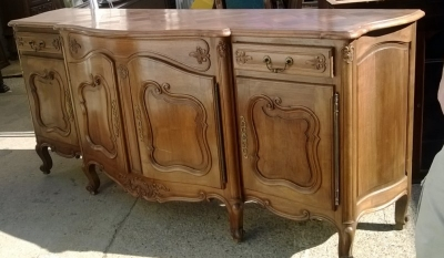 15A23 COUNTRY FRENCH WALNUT SIDEBOARD (1).jpg
