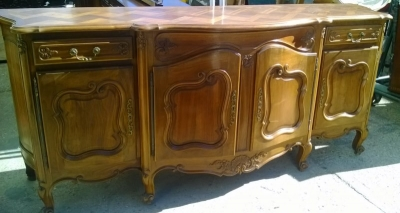 15A23 COUNTRY FRENCH WALNUT SIDEBOARD (4).jpg