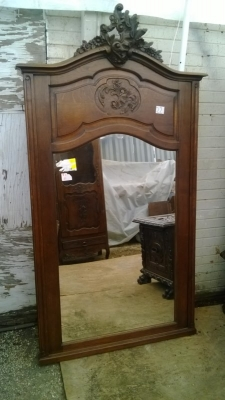15A23 LOUIS XV OAK MIRROR (2).jpg