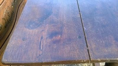 15A23 NARROW OAK TURNED LEG TABLE (6).jpg